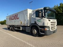 bakwagen vrachtwagen Scania P270 6X2/4