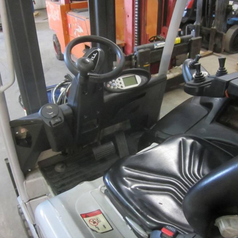vorkheftruck Still RX 20-18 Elektrische heftruck Still RX 20-18, duplomast side shift 2012