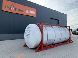 tankcontainer Van Hool 20FT,  33.966L / 1-comp / 1 baffel, L4BN, IMO-4 2000