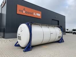 tankcontainer Welfit Oddy 31.850L, 4 baffels, 5 manholes, 20FT swapbody, weight: 4.475kg, UN PORTABLE, T7, 5Y/CSC: 12/2023 2003
