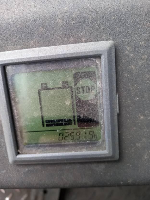 vorkheftruck Steinbock BOSS JE 10 Elektrische Heftruck (2591 UUR) 1996