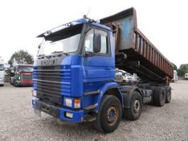 kipper vrachtwagen Scania R143 8x4 Retarder 1996