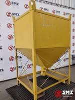 overige bouwmachine Occ handmatige silocontainer 75x60x100cm