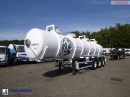tankoplegger MAISONNEUVE Chemical ACID tank alu 24.3 m3 / 1 comp 1998