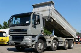 kipper vrachtwagen MAN CF 85.460 Kipper 8x4 Retarder Scheckheft Euro 5 2012