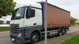 wissellaadbaksysteem vrachtwagen Mercedes-Benz 2542 LL BigSpace 2013