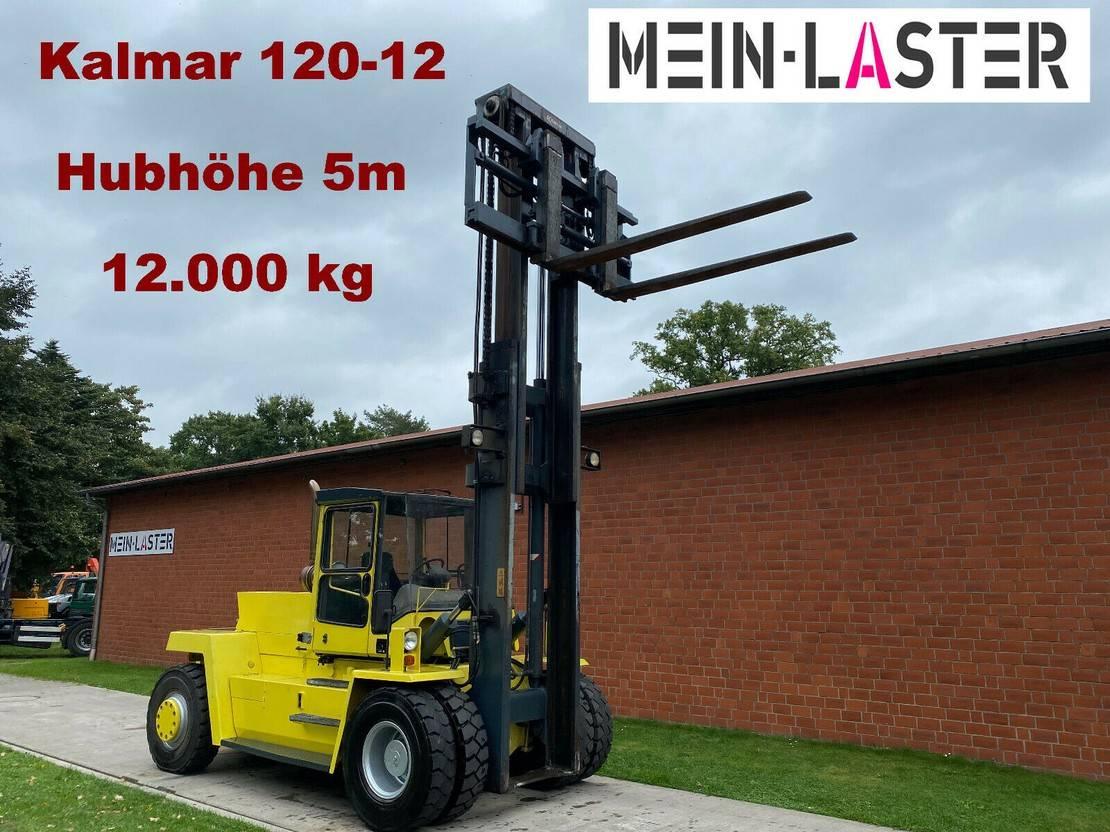 vorkheftruck Kalmar 120-12 12.000 kg Hubhöhe 5 m hydr.Seitenschieber 2002