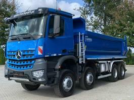 kipper vrachtwagen Mercedes-Benz Arocs 4142 8x8 BB EURO6 Muldenkipper TOP 2017