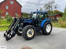 standaard tractor landbouw New Holland TS115 2001