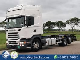 wissellaadbaksysteem vrachtwagen Scania R450 2017