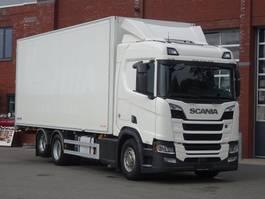 koelwagen vrachtwagen Scania R580 6x2 - ThermoKing Frigo UT Spectrum - Bi Temp - Double stock - Full air 2017