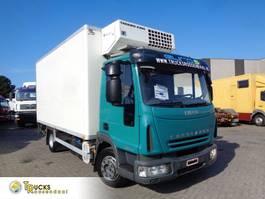 koelwagen vrachtwagen Iveco EuroCargo 120 EL18 + Manual + Euro 5 + Thermoking MD-II MAX + Dhollandia Lift 2007