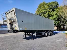 kipper oplegger OVA 53m3 tipper- saf axles- empty weight only 5900kg- very good condition 2010