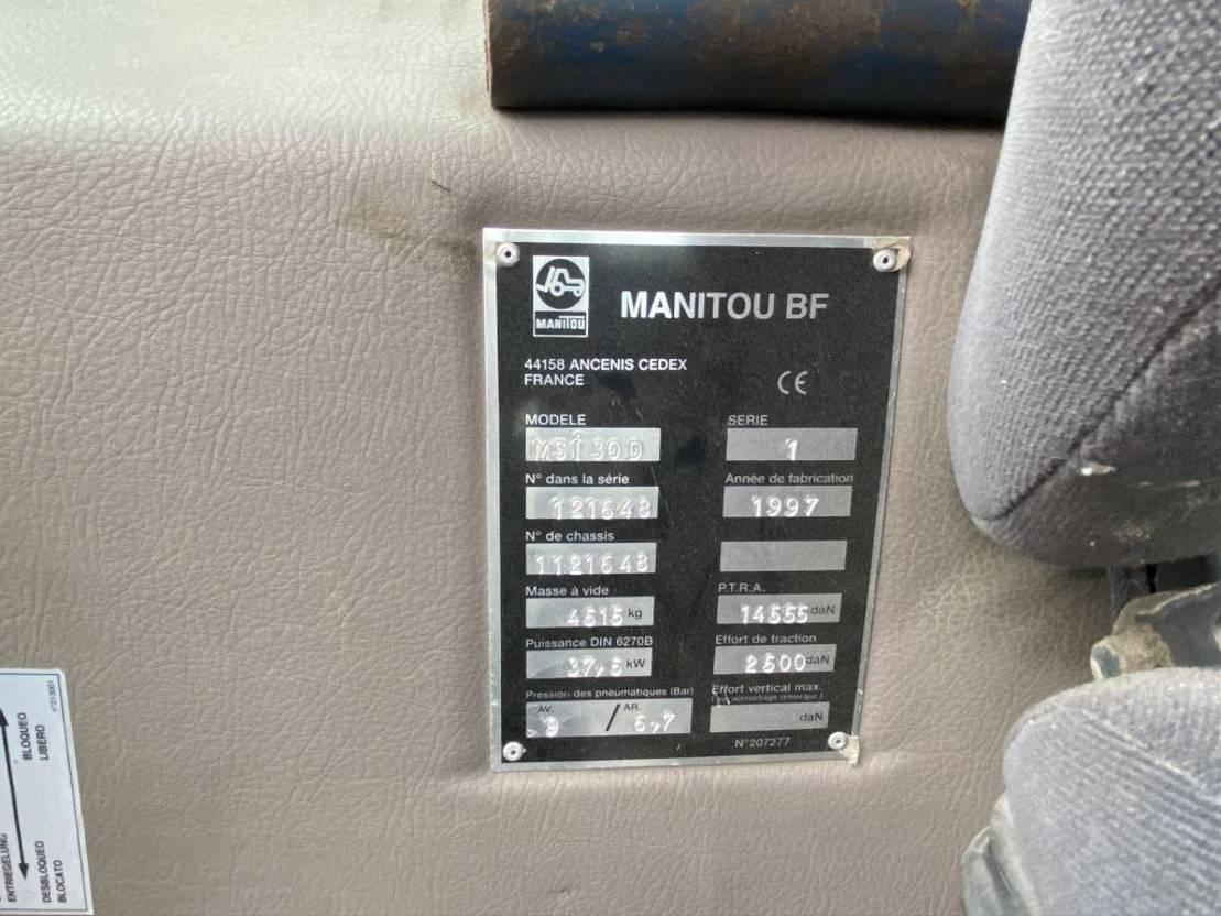 vorkheftruck Manitou MSI 30D 1997