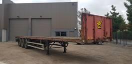 container chassis oplegger Kromhout plateau 8 TWISTLOCKS  Bpw tambour 1999