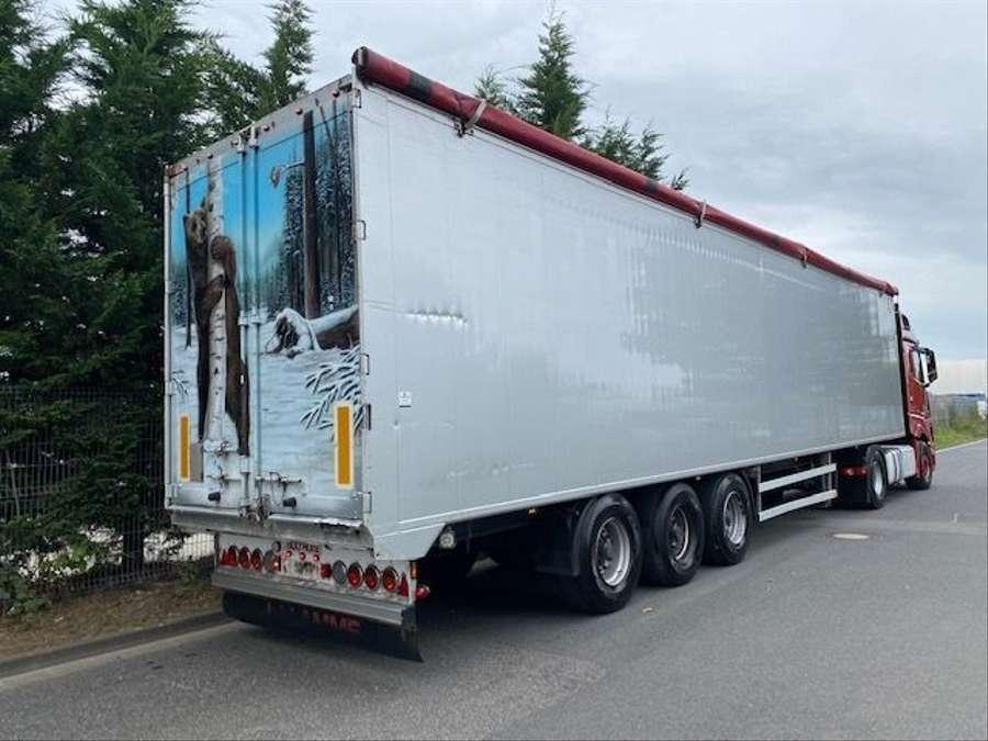 Bulthuis - TDWA01/ Schubboden / PBW Achsen 4