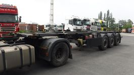 container chassis oplegger System Trailer 20' 30'  CONTAINERCHASSIS ADR UITVOERING 2015