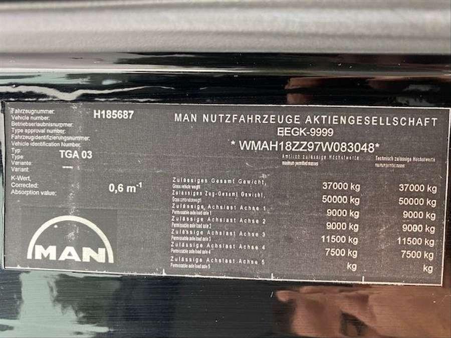 MAN - TGA 37.400 8x2 Kran PM 85027+J1204.20 Funk 27