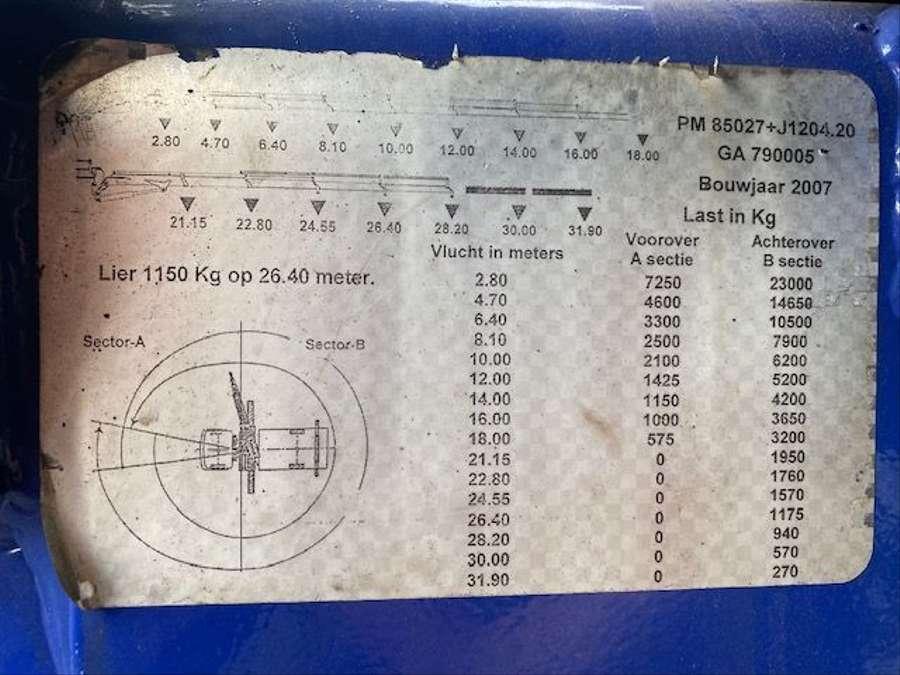 MAN - TGA 37.400 8x2 Kran PM 85027+J1204.20 Funk 13
