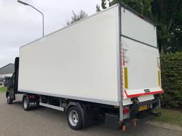 gesloten opbouw oplegger kuiper Be Oplegger 4800 kg laadvermogen laadklep , zijdeur , 2013 , 2013