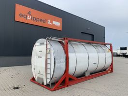 tankcontainer Van Hool El. heating, 20FT, swapbody TC 30.856L, L4BN, IMO-4, valid insp./CSC: 08/22 2000