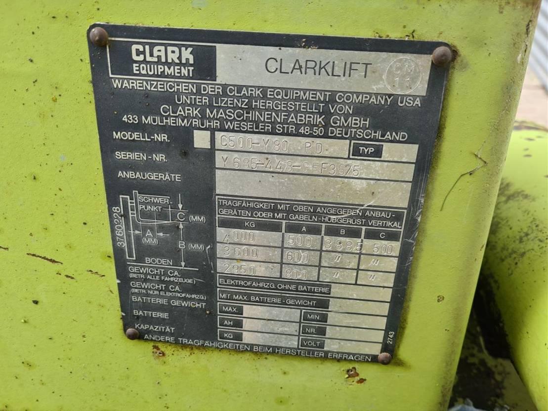 vorkheftruck Clark C500