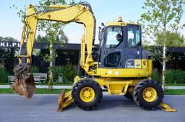 wielgraafmachine Komatsu PW 98MR-6 / 4x4x4 / arm bends 3 times 2009
