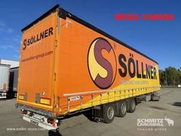 mega-volume oplegger Schmitz Cargobull Varios Semitrailer Curtainsider Varios 2015