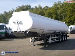 tankoplegger MERCERON Fuel tank alu 37.9 m3 / 7 comp + dual counter 2000