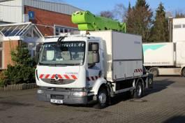 autohoogwerker vrachtwagen Renault Midlum 220 Bühne 182CPM/18m/2P.Korb/Werk.Koffer 2012