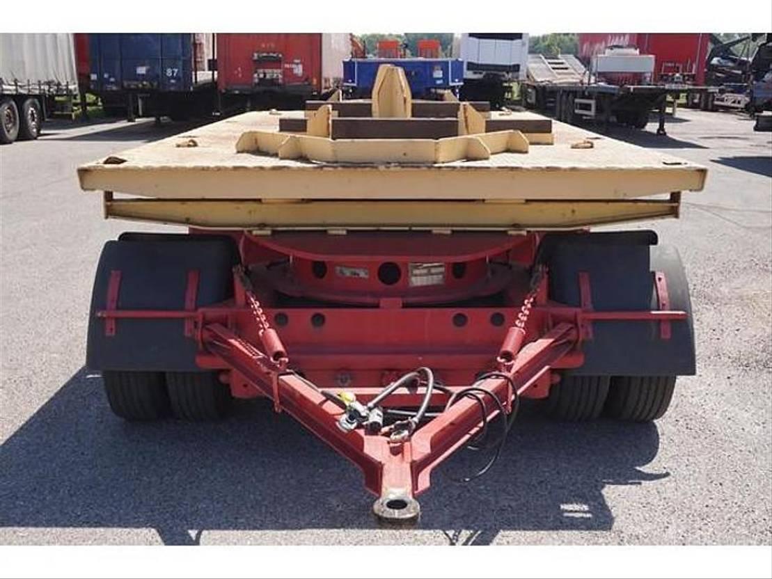 overige aanhangwagen KAR l Tang Drawbar trailer / 3-axles / SAF Drum / Air suspension / German re... 1991