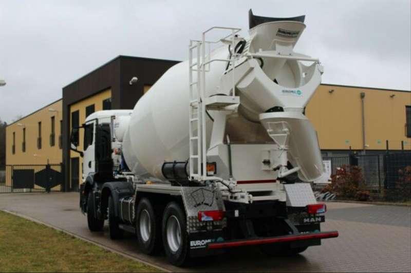 MAN - 32.430 8x4 / Euromix MTP EM 9m³ R TG 3 NEU 4