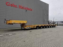 semi dieplader oplegger Goldhofer STZ-H8-78/80A Powersteering 8 Meter Extandable! 2004