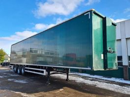 gesloten opbouw oplegger CUPPERS LP-2011 Closed Box / Double Floor / Sliding Roof / Tailgate 2000 KG 2015