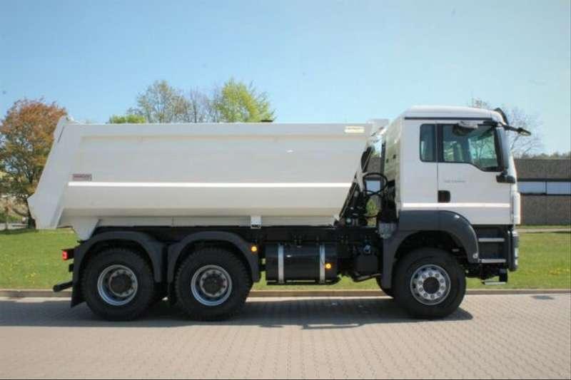 MAN - 6x6 / Mulden-Kipper EuromixMTP 6