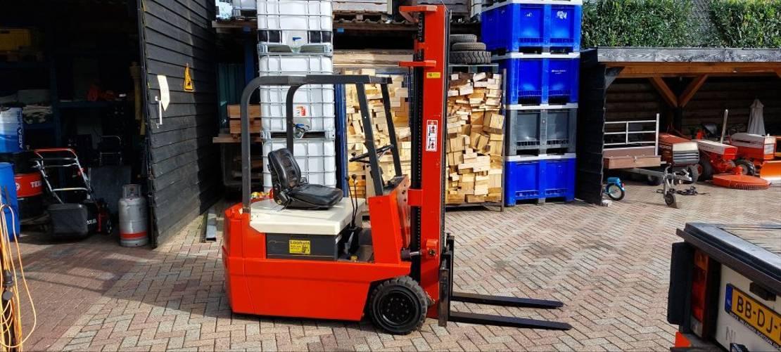 vorkheftruck Nck nyk FBT18-20B triplo mast 550 cm elektrische heftruck