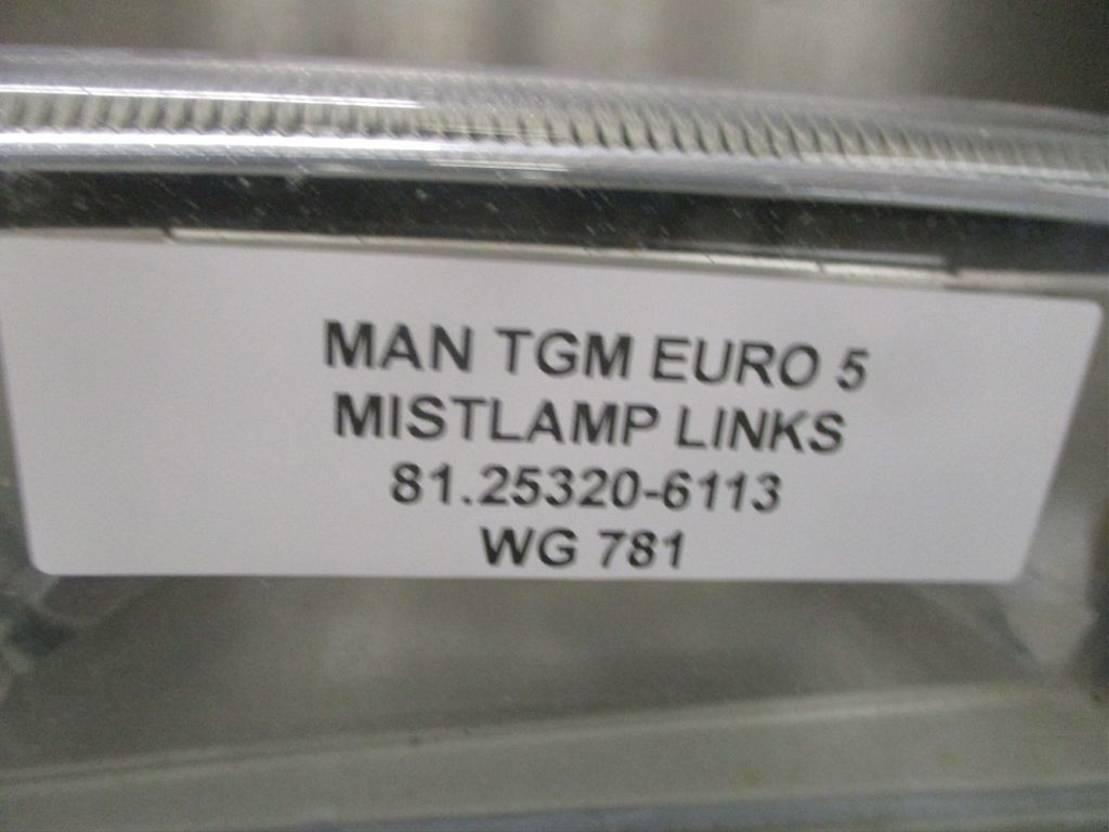 Mistlamp vrachtwagen onderdeel MAN 81.25320-6113 MISTLAMP LINKS EURO 5