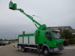 autohoogwerker vrachtwagen DAF LF 45 custers16meter 2009