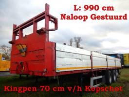 platte oplegger Zorzi 3 as Oplegger Open - Naloop gestuurd, OP-18-RT 1994