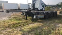 container chassis oplegger WEBTRAILER LPRS24 2016