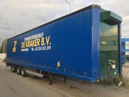 platte oplegger Vogelzang VO1-STG-12-27-SZ - 3 As Oplegger Schuifzeil OG-65-YY 2002