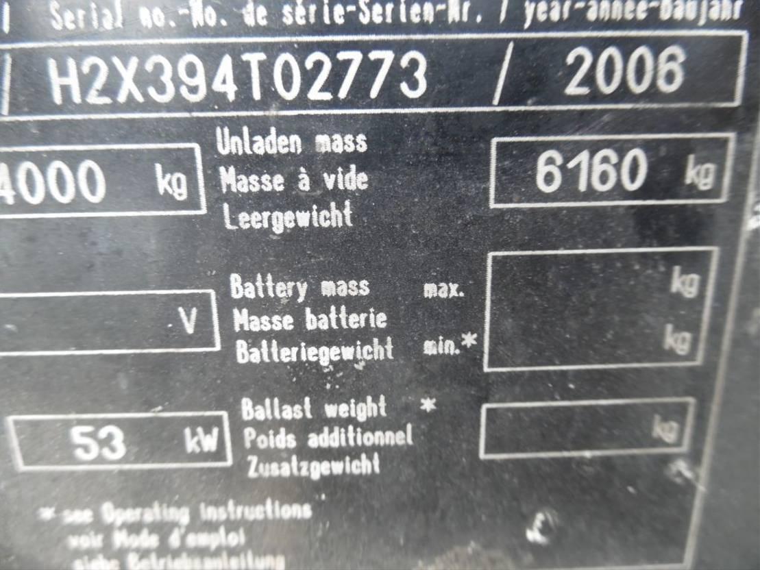 vorkheftruck Linde linde H 40 T H 40 T 2006