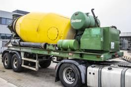 betonmixer oplegger Stetter BETON MIXER 10 M3+Hulpmotor/Moteur aux. 2001