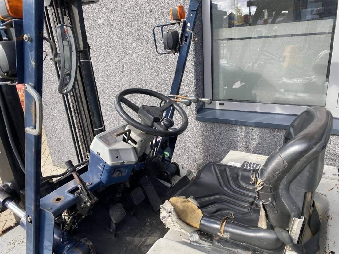 vorkheftruck Komatsu FD40Z-5 Heftruck Komatsu FD40Z-5 Duplo 320/3e functie Diesel 1993