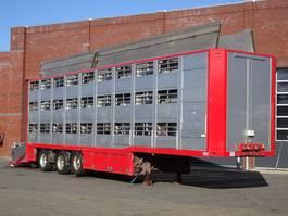 vee oplegger Berdex Renders 3 deck - Lift axle/steering axle - Ventilation 1999