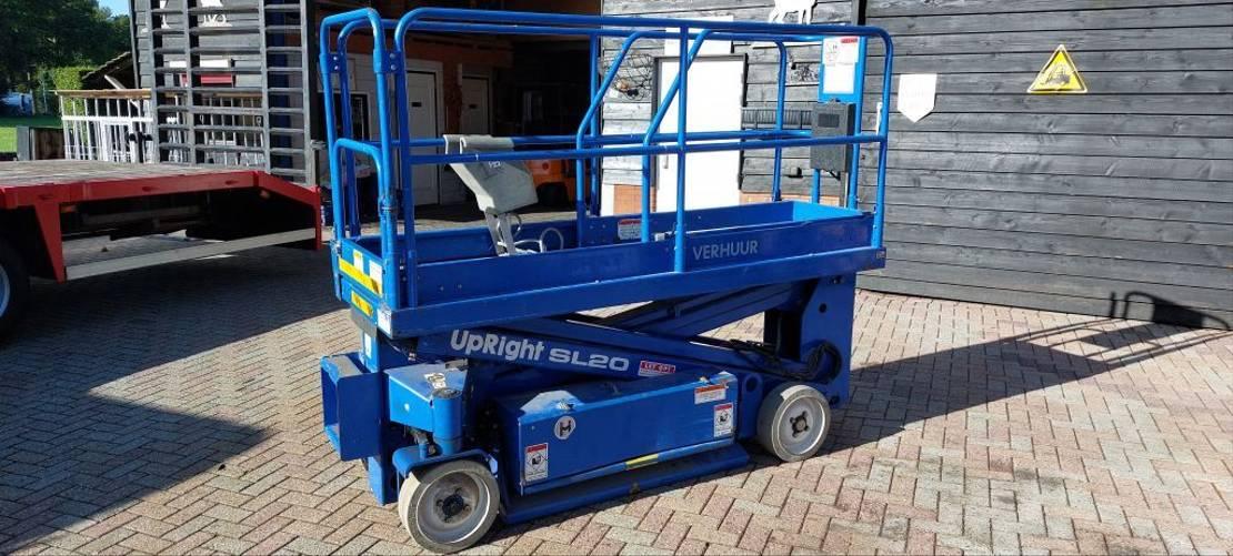 vorkheftruck Upright SL20 met nieuwe batterij 2021 en gekeurd