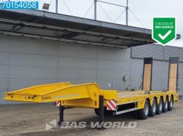 dieplader oplegger Scorpion HKM 82 Ton 5 4 axles UNUSED 82T Steelsuspension Hydr. Rampen Verbreiterbar 2021