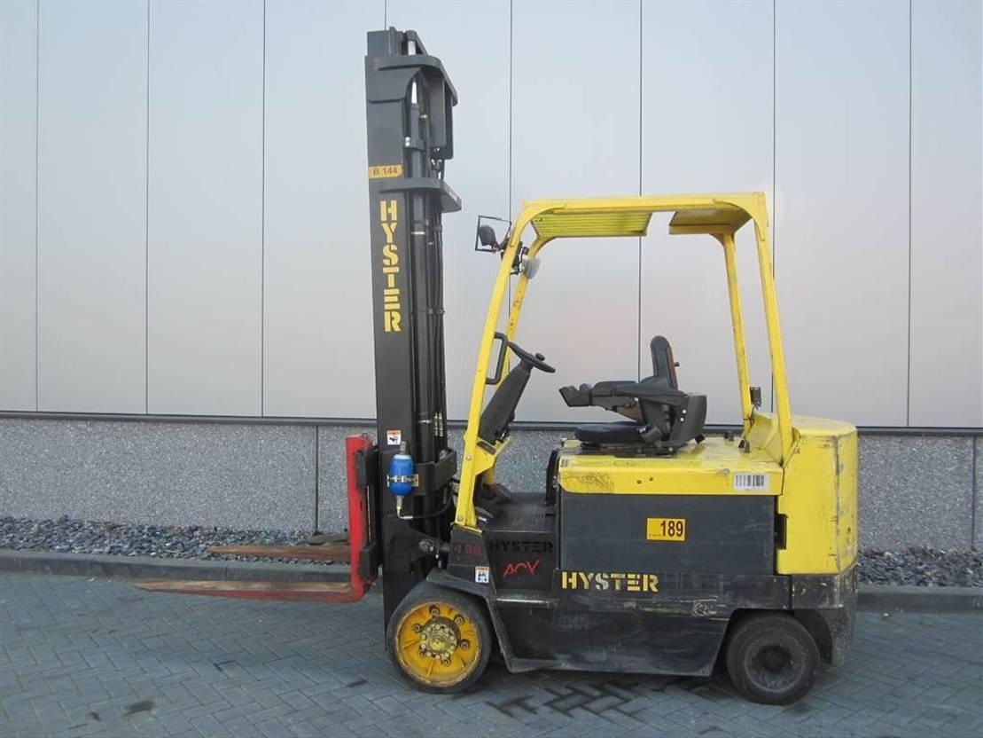 vorkheftruck Hyster E 4.50 XLS ACX 2008