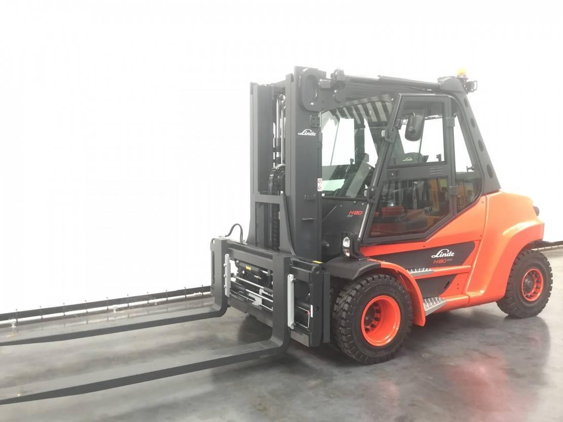 vorkheftruck Linde H 80 D-03/900 2021