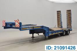 dieplader oplegger Gheysen en Verpoort Low bed trailer 2007